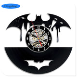 Batman - Retro Vinyl Wall Clocks - Lamp