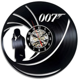 James Bond - Retro Vinyl Wall Clocks - Lamp
