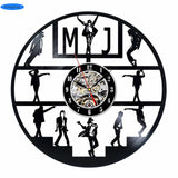 Michael Jackson - Retro Vinyl Wall Clocks - Lamp