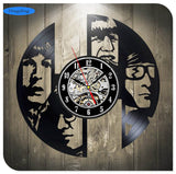 Jimi Hendrix - Retro Vinyl Wall Clocks - Lamp