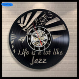 Musical Instruments Inspired - Retro Wall Clocks - Lamp