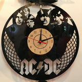 ACDC - Retro Vinyl Wall Clock - Lamp