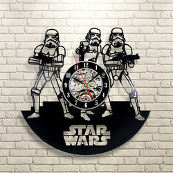 Star Wars - Retro Vinyl Wall Clocks - Lamp