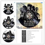 X-Men  - Retro Vinyl Wall Clocks - Lamp