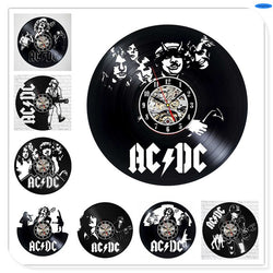 ACDC - Retro Vinyl Wall Clocks - Lamp