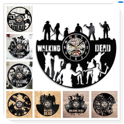 The Walking Dead - Retro Vinyl Wall Clocks - Lamp