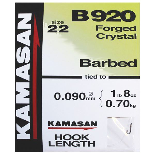 Kamasan B920 Hook to Nylon