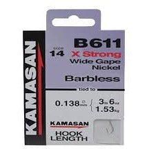 Kamasan B611 to Nylon Barbless