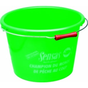 Sensas 15L Green Bucket