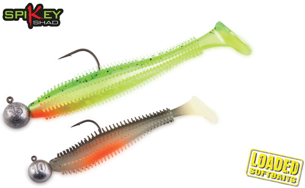 Spkey Shad Loaded Mixed Colours 12cm 15g 4pcs