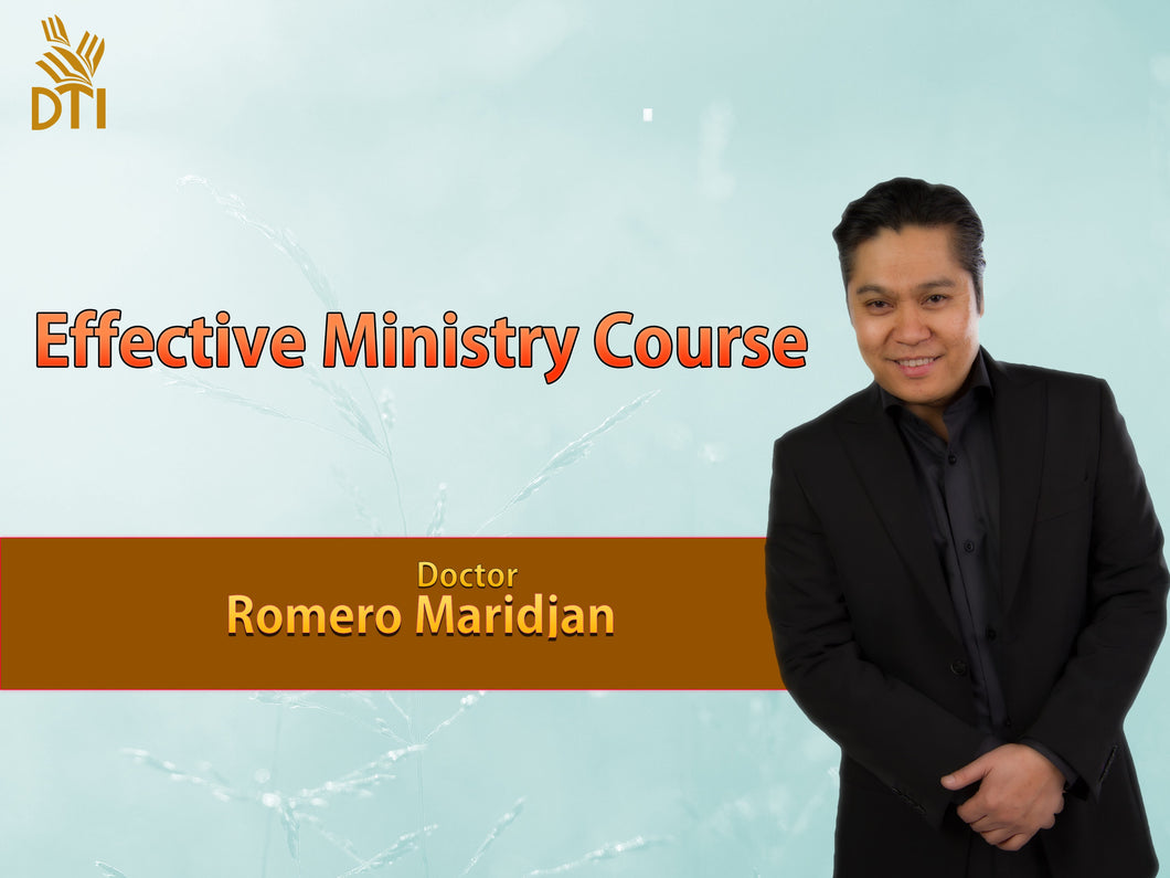 Effective Ministry Course