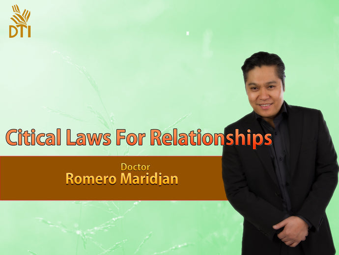Critical Laws For relationships