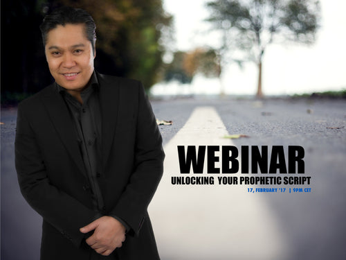 Webinar: Unlocking Your Prophetic Script