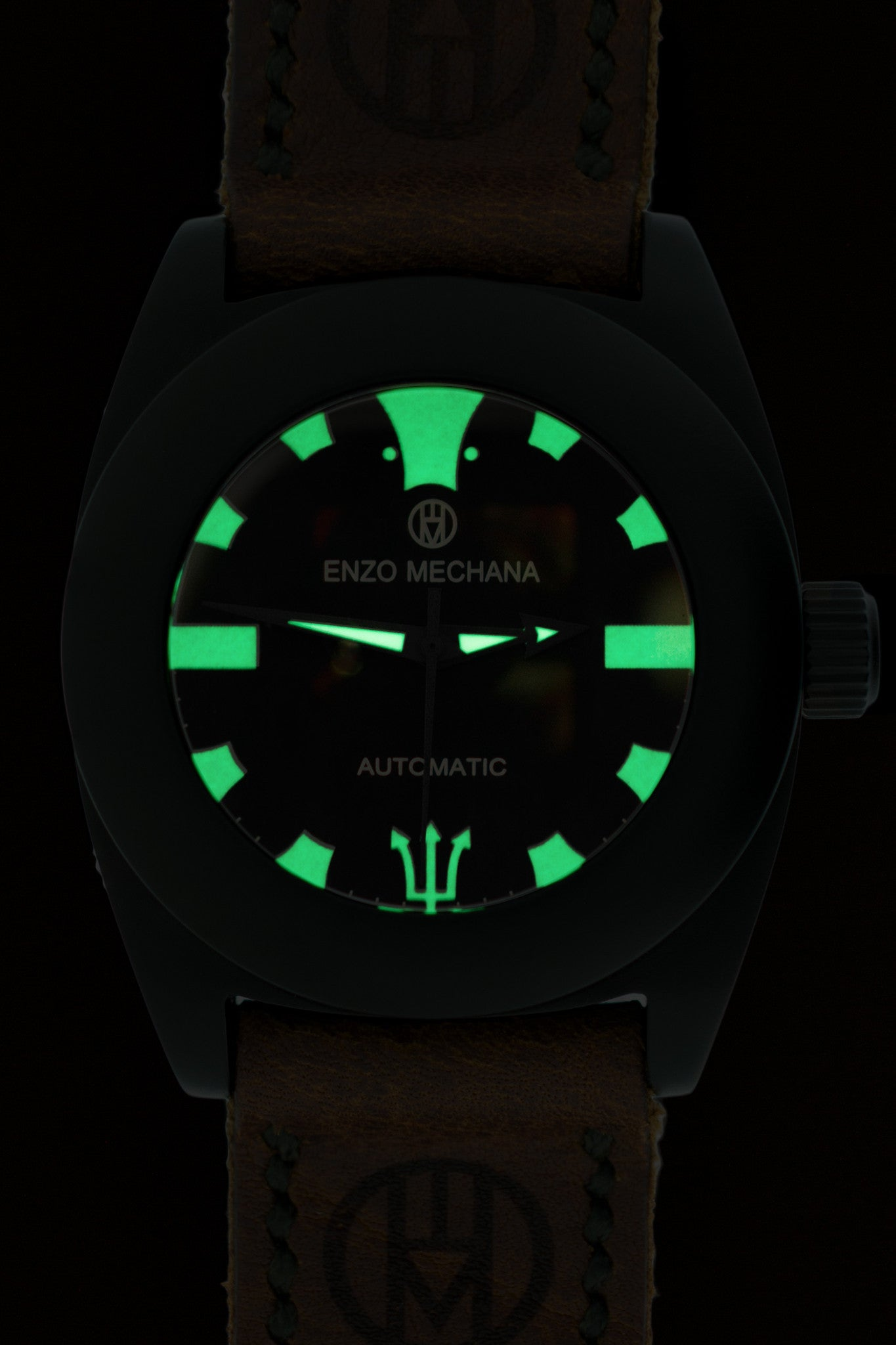 Enzo Mechana MARE NERO Limited Edition Automatic Watch