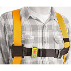 Universal Fit ID attached to harness