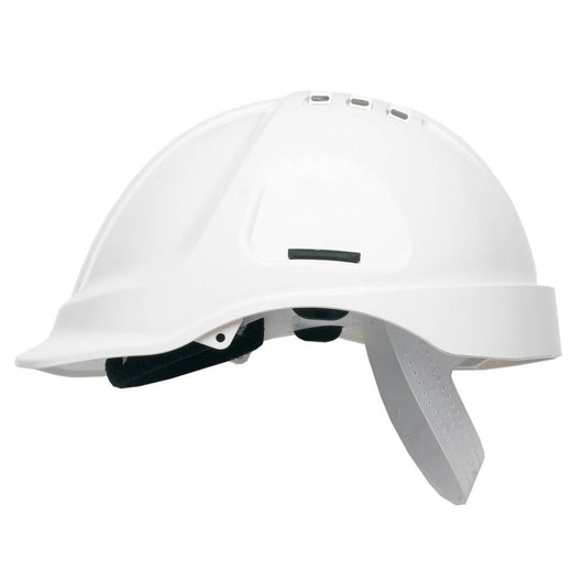 Scott Safety HC600V White Vented Helmet