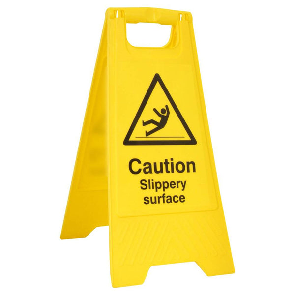 B-Safe Caution Slippery Surface A Board