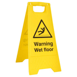B-Safe Warning Wet Floor A Board