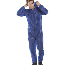 B-Brand Disposable Polypropylene Boiler Suit Navy