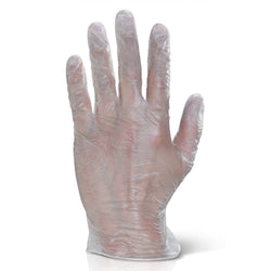 B-Click Disposable Vinyl Gloves