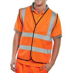 Hi Vis EN471 Vest Orange 1