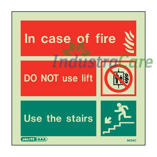 Jalite Do Not Use Lift Photoluminescent Rigid PVC Safety Sign