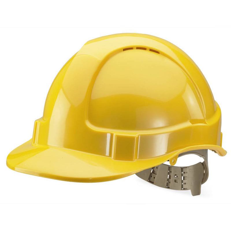 B-Brand Vented Safety Helmet Yellow