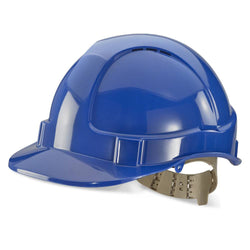 B-Brand Vented Safety Helmet Blue