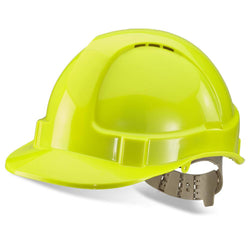 B-Brand Vented Safety Helmet Saturn Yellow