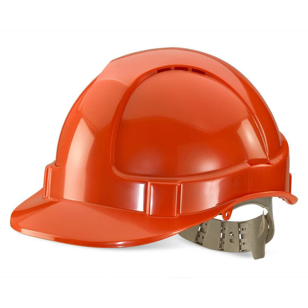 B-Brand Vented Safety Helmet Orange