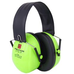 Peltor Optime 2 Folding Hi-Vis Ear Muffs (Hearing Protection)