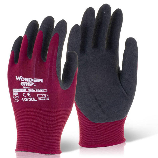 Wonder Grip Neo Nitrile Safety Gloves