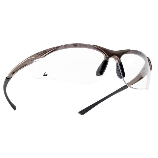 Bolle Contour Clear Lens Safety Glasses