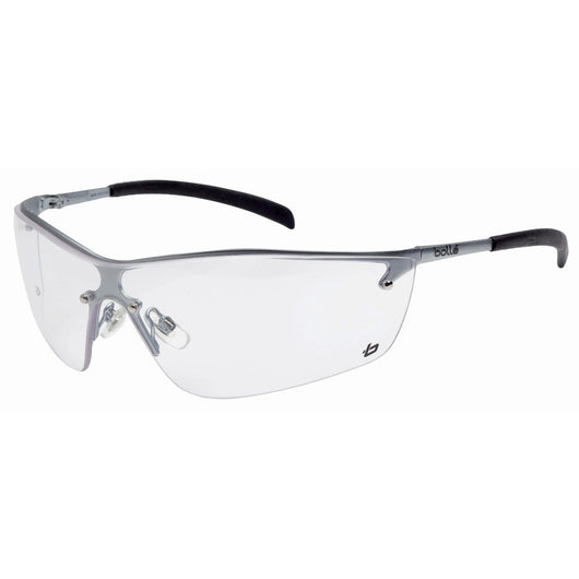 Bolle Silium Clear Lens Safety Glasses