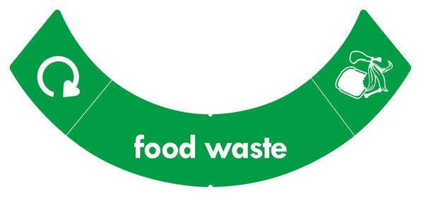 uBin Sticker - Food Waste