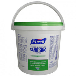Purell Hand and Surface Sanitising Wipes (Bucket)