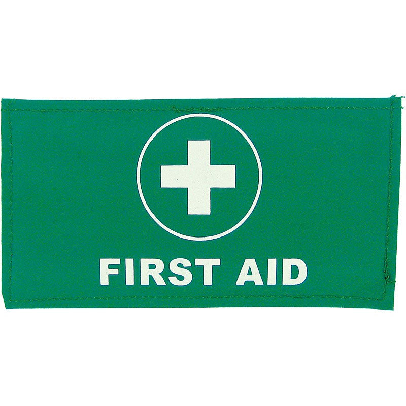 First Aid Armband Velcro Closure 11.5 x 22cm