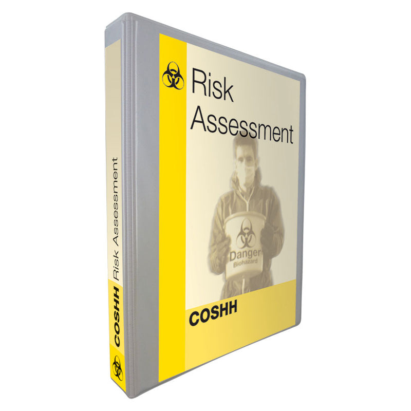 COSHH Risk Assessment Folder Empty