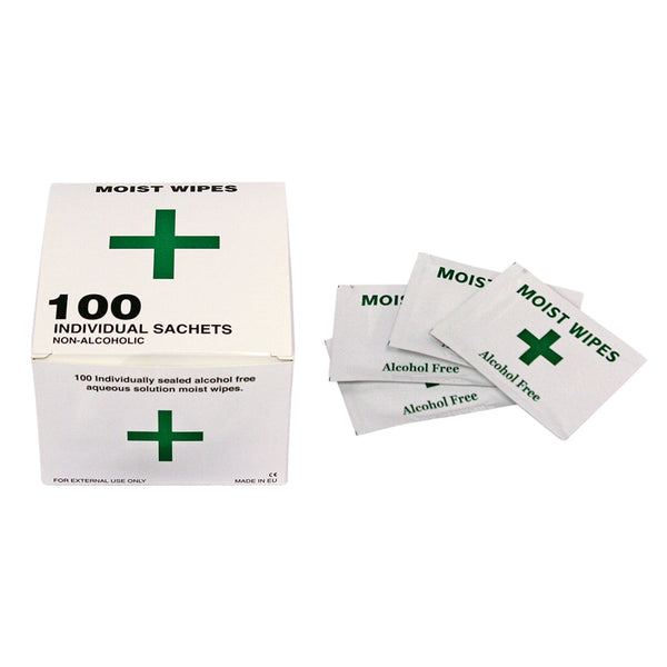 Alcohol Free Cleansing Wipes Pack of 100