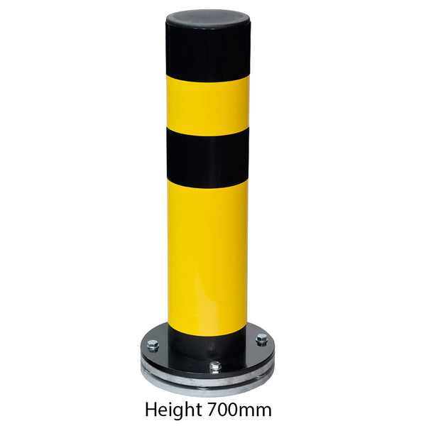 Black Bull Flex Heavy Duty Rotating Bollard Height 700mm (1)