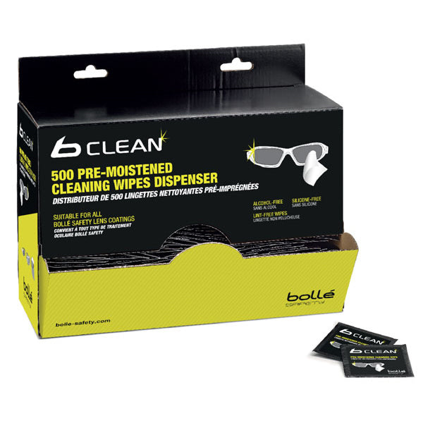 Bolle B500 Lens Cleaning Wipes (Pack of 500)