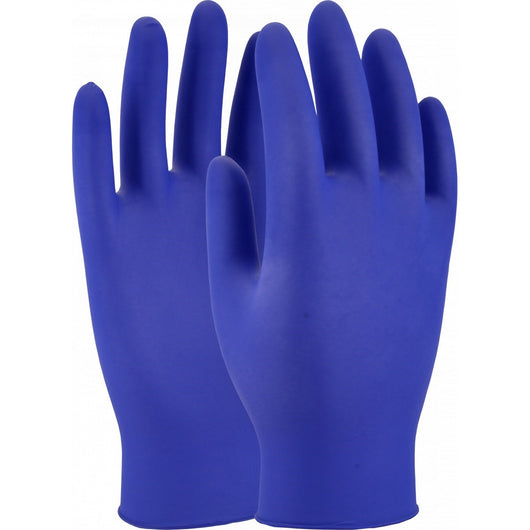 Cobalt Blue Powder Free Nitrile Disposable Gloves (Box of 100)