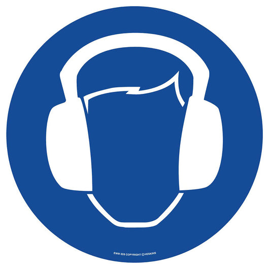 PROline Floor Sign: Ear Protection