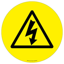 PROline Floor Sign: Electrical Danger