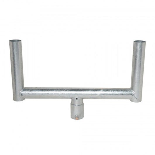 Galvanised Steel Fork Top (Traffic Mirror Size 1) image 1