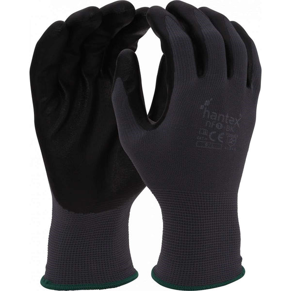 Hantex NF1 Black General Handling Gloves