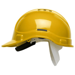 Scott Vented Safety Helmet Yellow