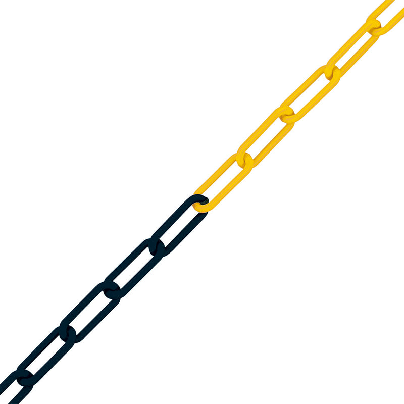 Traffic-Line M-Poly Visible 8mm Barrier Chains Yellow/Black