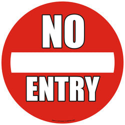 PROline Floor Sign: No Entry