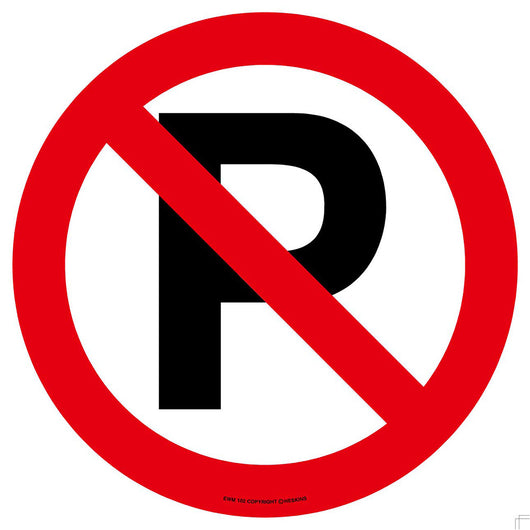 PROline Floor Sign: No Parking